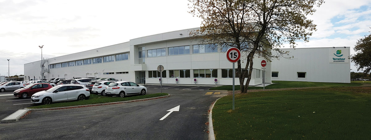 Superior IDEC Hands Over The Keys Of A Multi Temperature Warehouse In Reze (Loire  Atlantique) To The POMONA GROUP